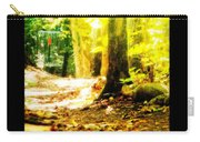 Yellow Discin Day Carry-all Pouch