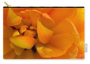 Yellow Double Tulip Carry-all Pouch