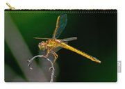 Yellow Dragonfly Carry-all Pouch