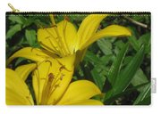 Yellow Easter Lily Carry-all Pouch