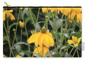 Yellow Echinacea Carry-all Pouch