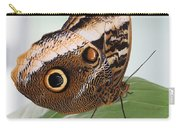 Yellow-edged Giant Owl Butterfly #3 Carry-all Pouch
