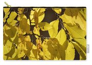 Yellow Elm Carry-all Pouch