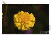 Yellow Fall Flower Carry-all Pouch