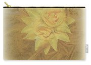 Yellow Fascinator With Feathers Carry-all Pouch