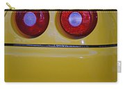 Yellow Ferrari Tail Lights Carry-all Pouch