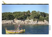 Yellow Fishing Boat - Cote D'azur Carry-all Pouch