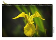 Yellow Flag Flower Outdoors Carry-all Pouch