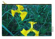 Yellow Flag Iris Carry-all Pouch