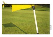 Yellow Flag On The Green Carry-all Pouch