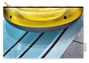 Yellow Float Palm Springs Carry-all Pouch