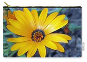 Yellow Flower Helianthus Carry-all Pouch