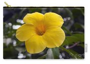 Yellow Flower Of Golden Trumpet Vine Carry-all Pouch