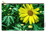 Yellow Flower Of Spring Carry-all Pouch
