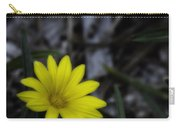 Yellow Flower Soft Focus Carry-all Pouch