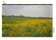 Yellow Flowers In A Field Carry-all Pouch
