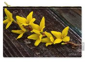 Yellow Forsythia Carry-all Pouch