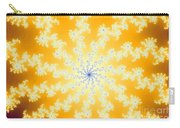 Yellow Fractal Carry-all Pouch