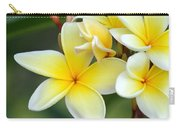 Yellow Frangipani Flowers Carry-all Pouch