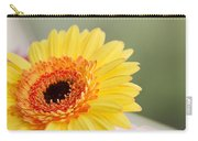Yellow Gerber Daisy Carry-all Pouch