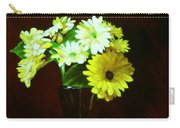 Yellow Gerbera Carry-all Pouch