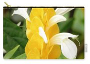 Yellow Ginger Blossom Carry-all Pouch