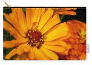 Yellow Gold Flowers Carry-all Pouch