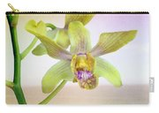 Yellow-green Orchid Carry-all Pouch