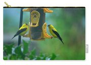 Yellow Grosbeak Duo Carry-all Pouch