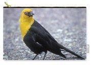 4m09157-02-yellow Headed Blackbird Carry-all Pouch