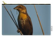 Yellow-headed Blackbird With Dragonfly Carry-all Pouch
