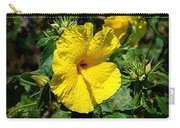 Yellow Hibiscus Hawaii State Flower Carry-all Pouch