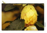 Yellow Hibiscus Late Afternoon Carry-all Pouch