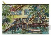 Yellow House By The River Carry-all Pouch
