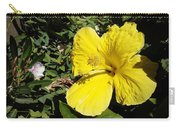 Yellow Hibiscus For Mom Carry-all Pouch