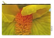 Yellow Iris Beard Carry-all Pouch
