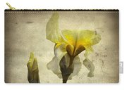 Yellow Iris - Vintage Colors Carry-all Pouch