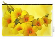 Yellow Kalanchoe - Succulent Sunshine Carry-all Pouch