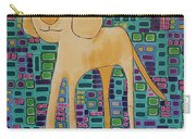 Yellow Lab Pup Carry-all Pouch