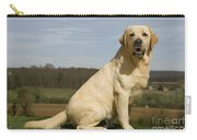 Yellow Labrador Dog Carry-all Pouch