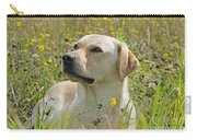 Yellow Labrador Retriever Carry-all Pouch