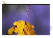 Yellow Leaf Carry-all Pouch