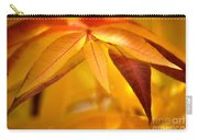 Yellow Leaves At Dawn Carry-all Pouch
