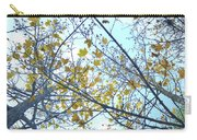 Yellow Leaves Vintage Carry-all Pouch