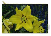 Yellow Lillies Carry-all Pouch