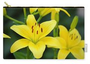 Yellow Lilly 8107 Carry-all Pouch