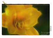 Yellow Lily 6069-fractal Carry-all Pouch
