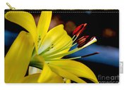Yellow Lily Anthers Carry-all Pouch by Robert Bales