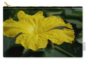 Yellow Luffa Blossom Carry-all Pouch