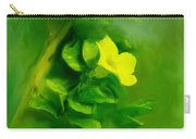 Yellow Mandevilla Flower Carry-all Pouch